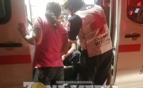 Niño golpeado durante asalto