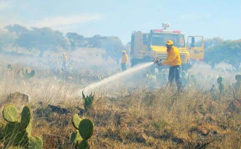 Huasteca es foco rojo por incendios