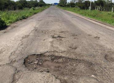 Carreteras sin mantenimiento