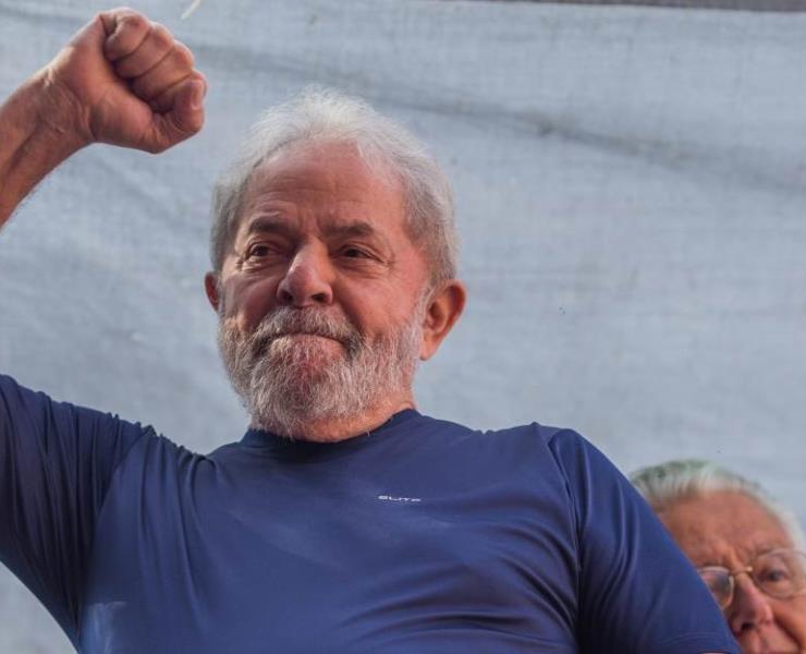 Lula da Silva va por la Presidencia