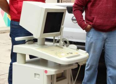 Entregaron nuevo equipo medico en Pisaflores