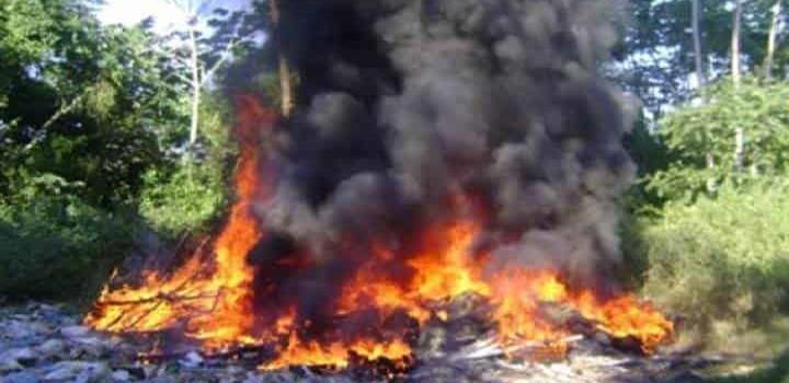 Quema de basura provoca incendios
