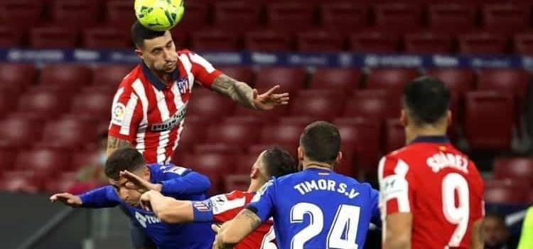 Atlético defiende su 'colchón' de puntos