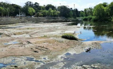 Río Valles con nivel más bajo en 60 años