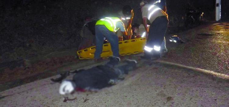 Muere aplastado por camión