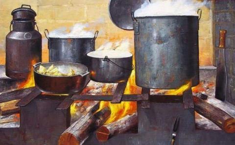 Cambian gas por cocina con leña