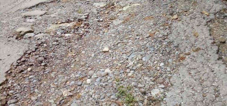 Dañada la ruta Matlapa-Peñita