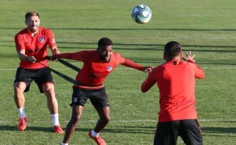 Atlético prepara la vuelta de octavos