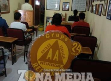 Grupo de AA invita acudir a sus sesiones