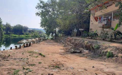 Avanza restauración de la rivera del río Amajac