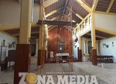 Rehabilitan templo del Barrio Tercero