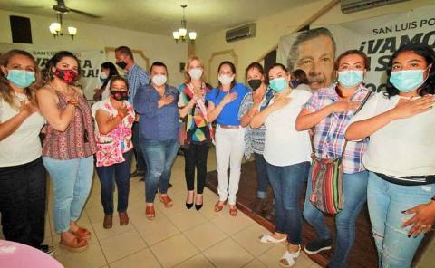 Mujeres gobernarán con Octavio Pedroza