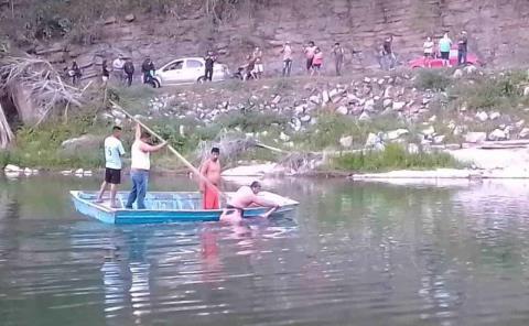 Ahogado en el río Amajac