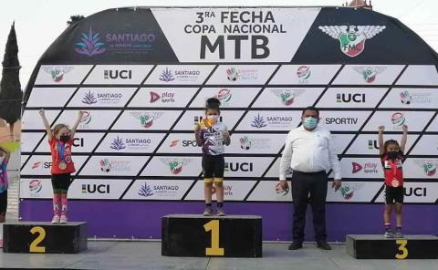 Suma Natalia Muñoz tercera victoria del año