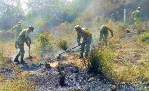 Batallón 'combatirá' incendios forestales
