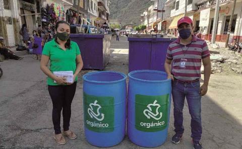 Inician con comerciantes separación de residuos