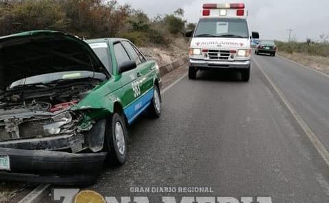 Carambola dejó dos lesionados