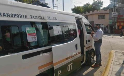 Trasportistas en la mira de SCT
