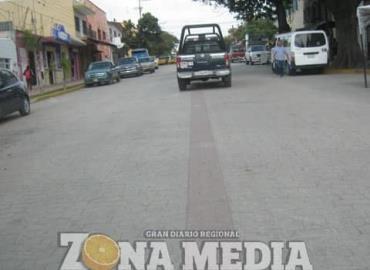 Ebrio detenido por municipales