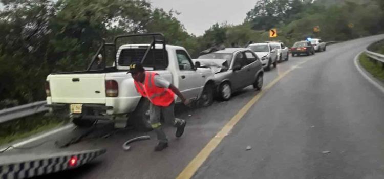 CHOFER MURIÓ EN ACCIDENTE
