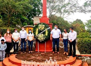 Conmemoran natalicio de Benito Juárez García