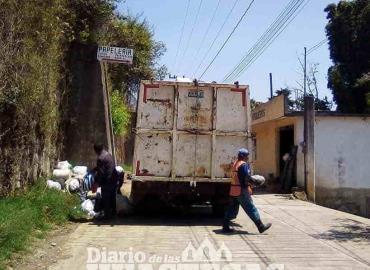Recolección de basura aumentó