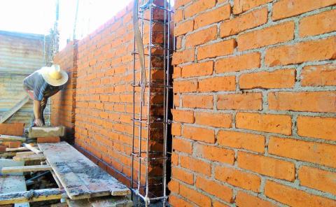 Crearán casas a base de ladrillos