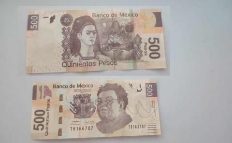 Venden billetes falsos