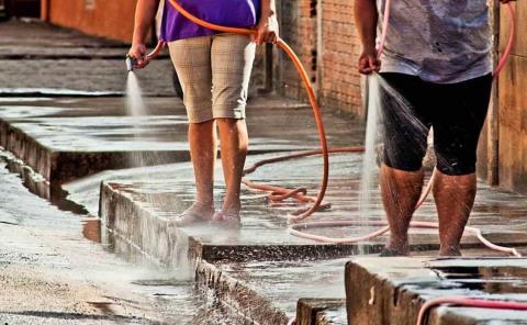 'Sancionarán' por el desperdicio de agua