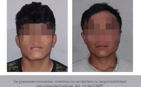 Presuntos miembros de grupo arrestados