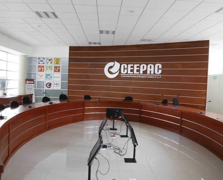 Anuncia CEEPAC en SLP debate a la gubernatura