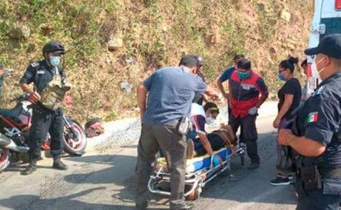 Hermano de oficial  mayor provocó fuerte accidente