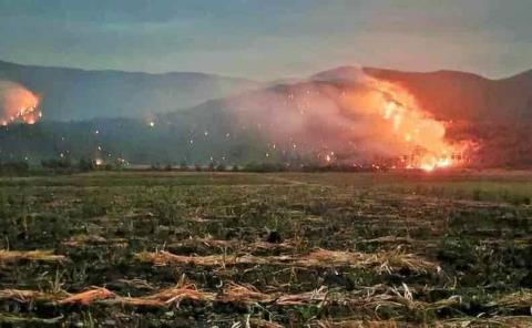 Arde la Huasteca