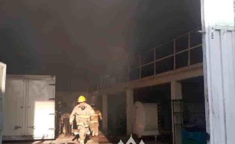 Incendió una fábrica