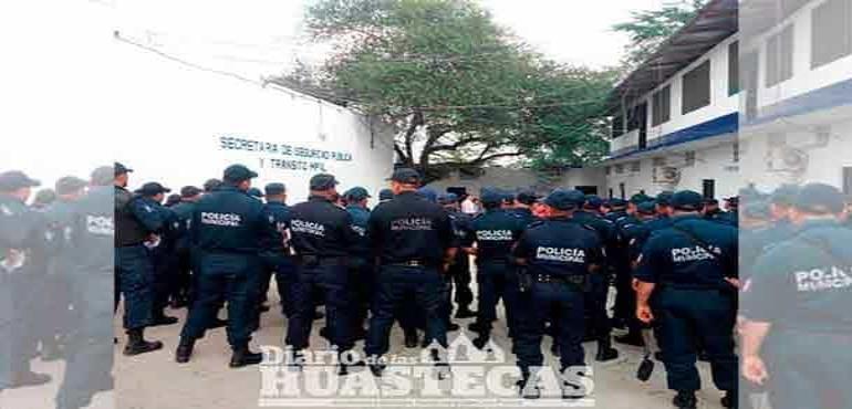 ¡Policías en paro!