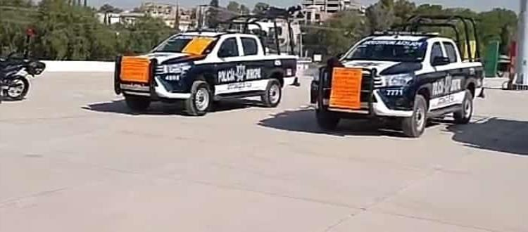 Protestan policías municipales