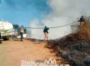 Se incendió un Deshuesadero