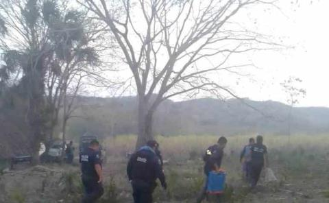 Sofocaron policías incendio forestal