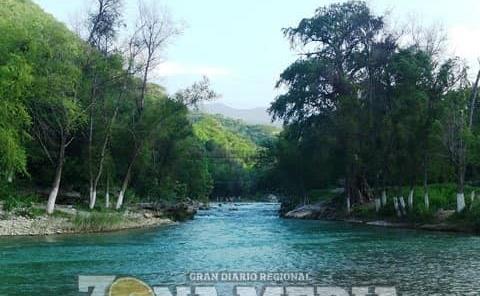 """Río """"Santa María"""" es belleza natural"""