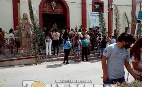 """Inició la """"Semana Santa"""" con """"Domingo de ramos"""""""