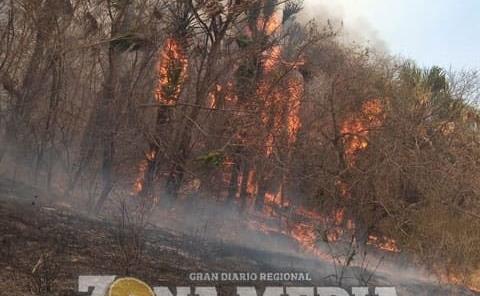 Atienden incendios con pocos recursos
