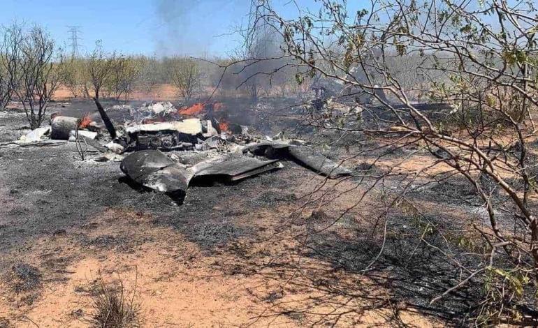 Caída de avioneta causó 5 muertos