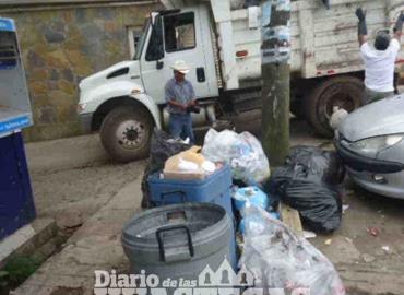 Evitar los basureros sobre la vía pública