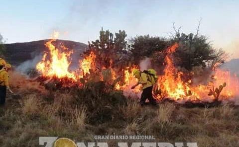 Sin dinero para combatir incendios
