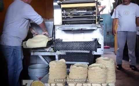 Descartaron aumento al precio de la tortilla