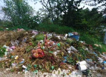 Basureros clandestinos perjudican al ambiente