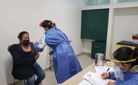 De 6 a 8 puntos de vacunación