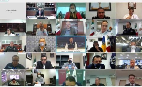 Participa SSP Hidalgo en el desarrollo de Estrategia Nacional de Protección en el Contexto Electoral