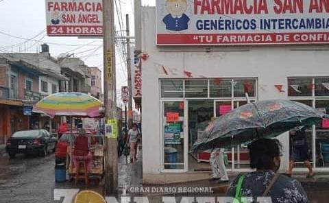 Llovió en Rioverde