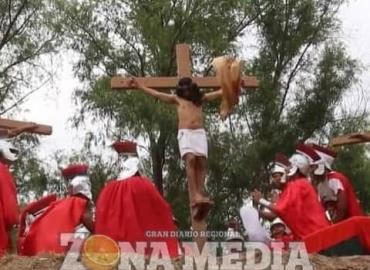 Viacrucis viviente realizará iglesia